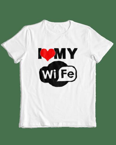 חולצות חתונה - I MY WIFI