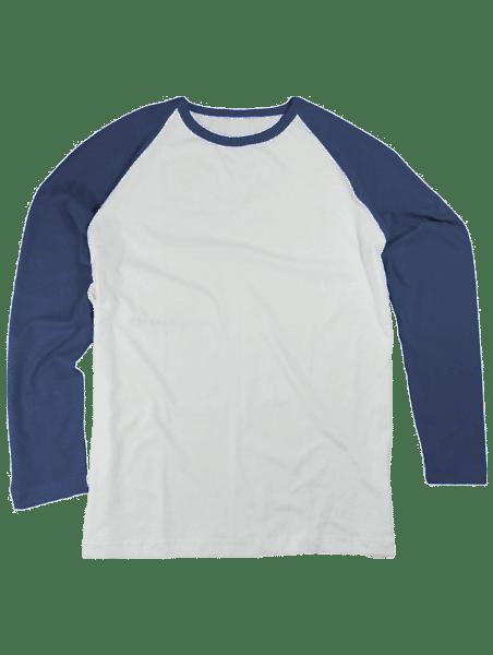 הדפסה על חולצה כחול רויאל